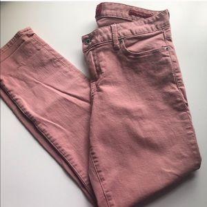 Lucky Brand Leyla style pink denim jeans sz 8